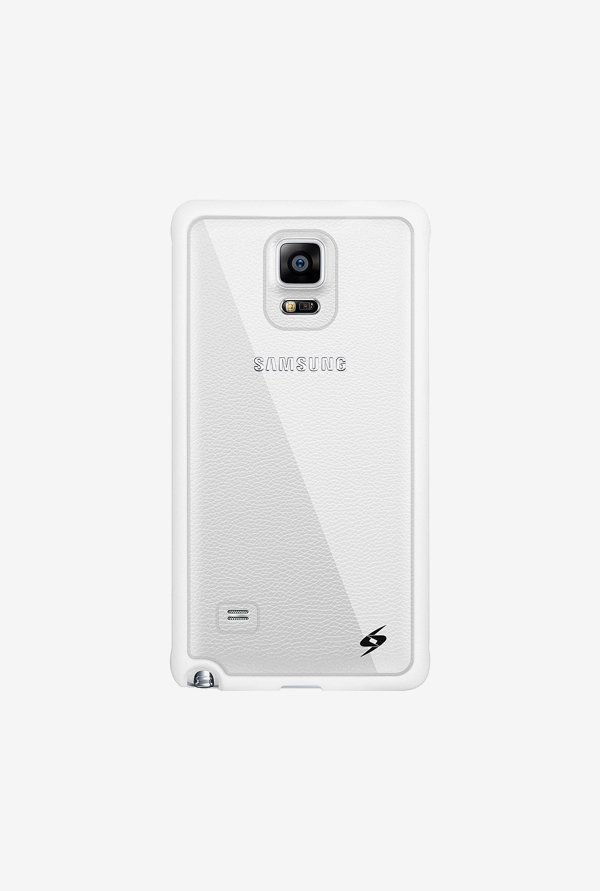 Amzer SlimGrip Hybrid Case White for Samsung Note 4