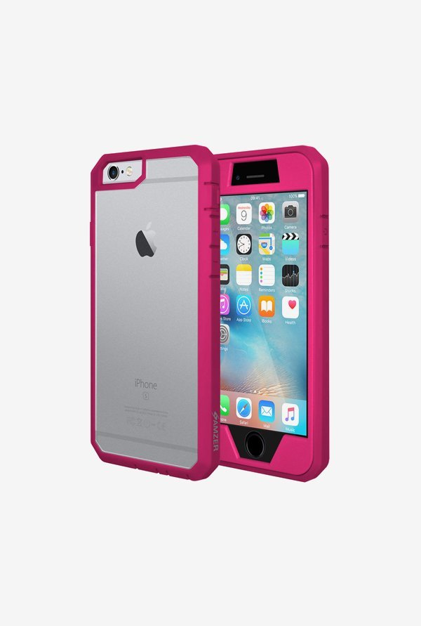 Amzer Full Body Hybrid Case Pink for iPhone 6+