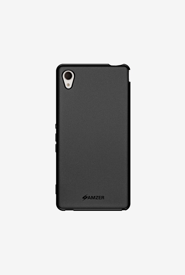 Amzer Pudding TPU Case Black for Xperia M4 Aqua