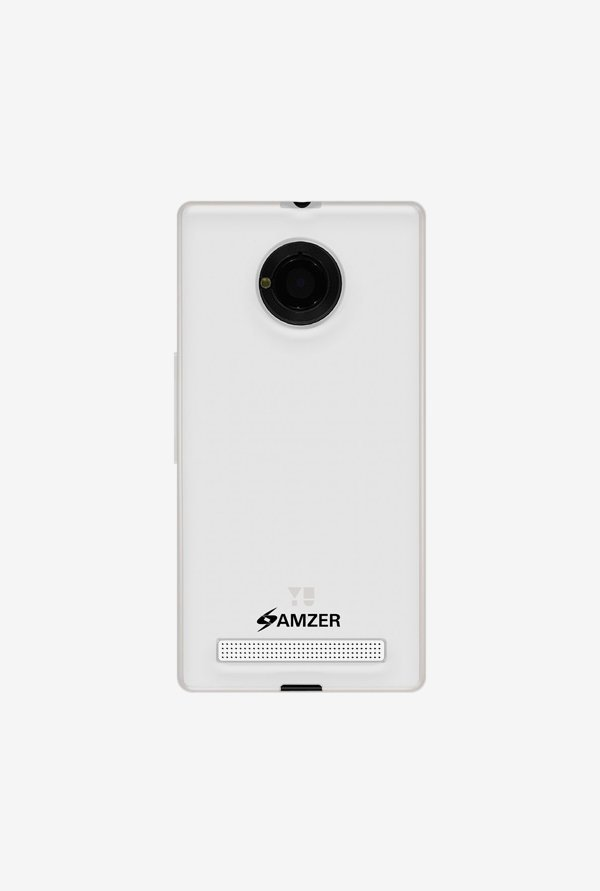 Amzer Pudding TPU Case Clear for Micromax YU Yuphoria