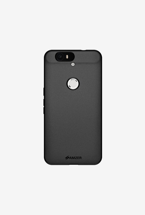 Amzer Pudding TPU Case Black for Nexus 6P