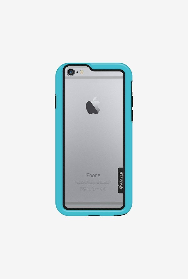 Amzer Border Case Blue for iPhone 6+