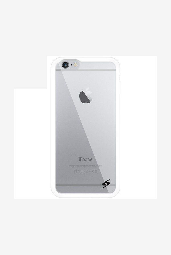 Amzer SlimGrip Hybrid Case White for iPhone 6+