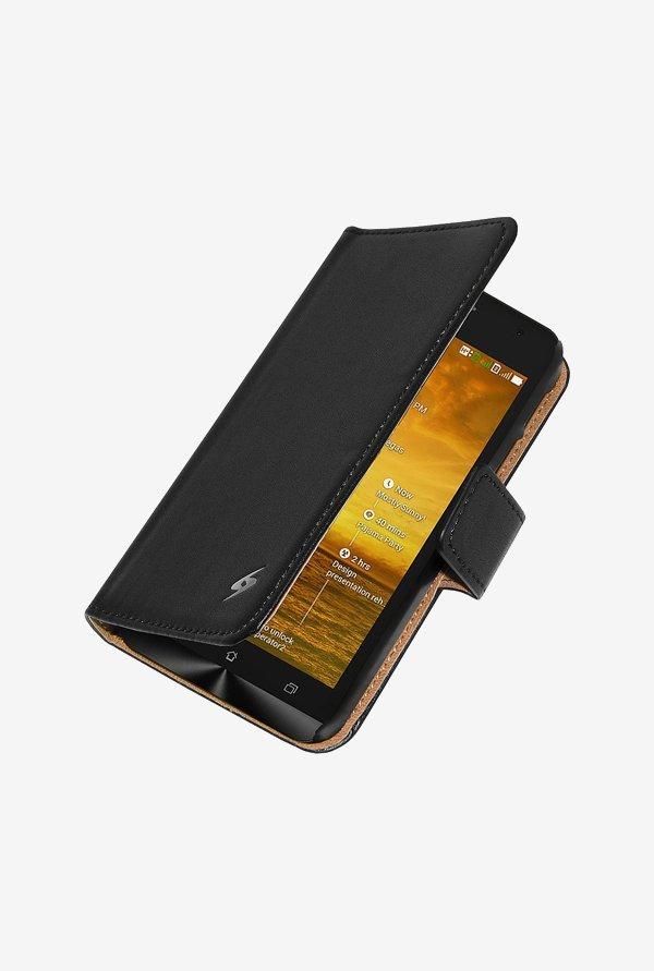 brand new 7dc19 6bdaa Buy Amzer Flip Case Black for Zenfone 5 online at best price at TataCLiQ