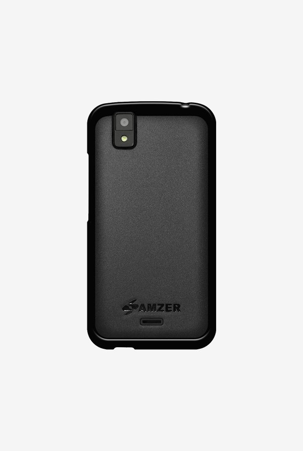 Amzer Pudding TPU Case Black for Karbonn Sparkle V
