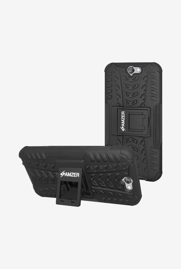 Amzer Hybrid Warrior Case Black for HTC One A9