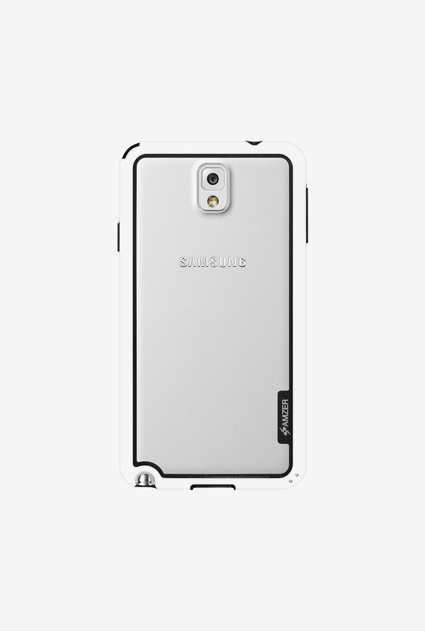 Amzer Border Case White for Samsung Note 3