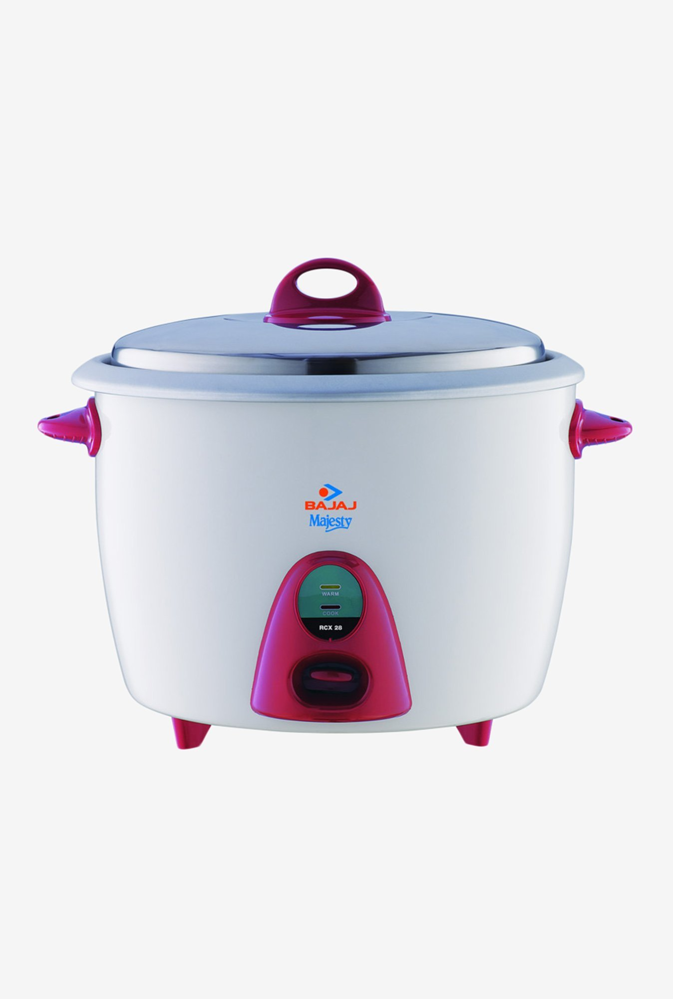 Bajaj Majesty 2.8 L RCX 28 Rice Cooker White
