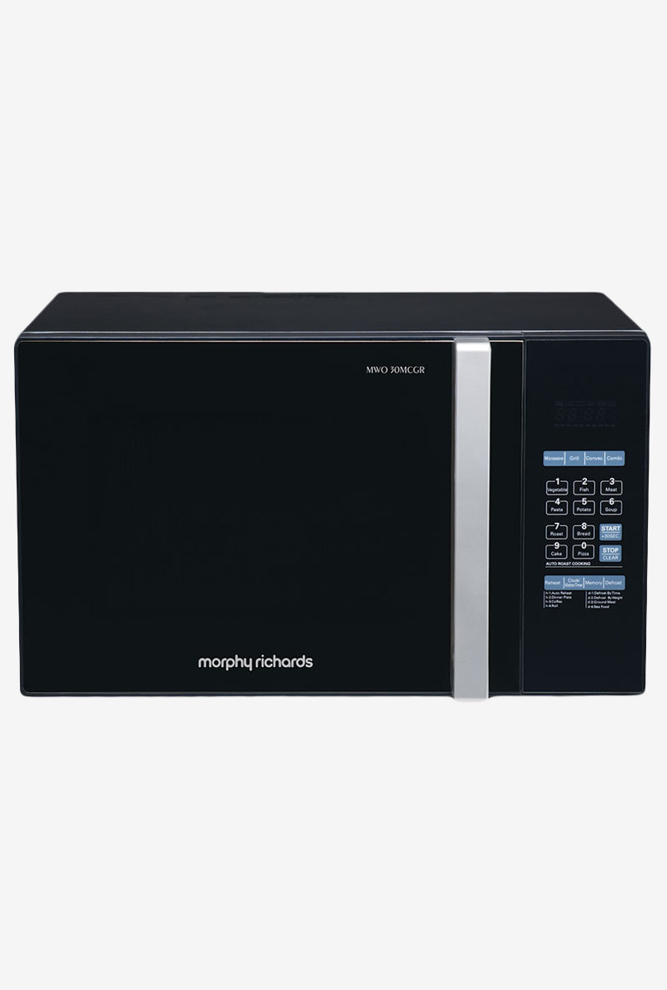 Morphy Richards 30MCGR 30L Convection Microwave Black