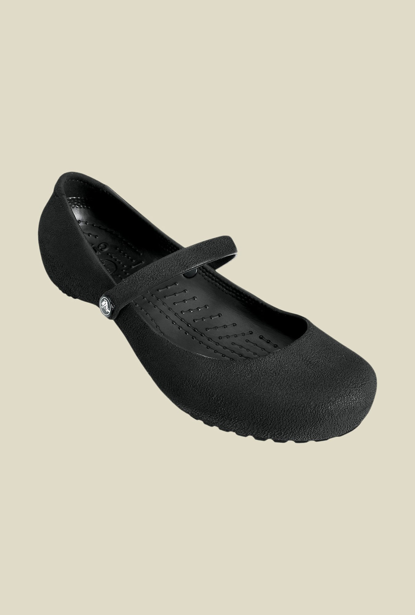 Crocs Alice Black Slide Sandals