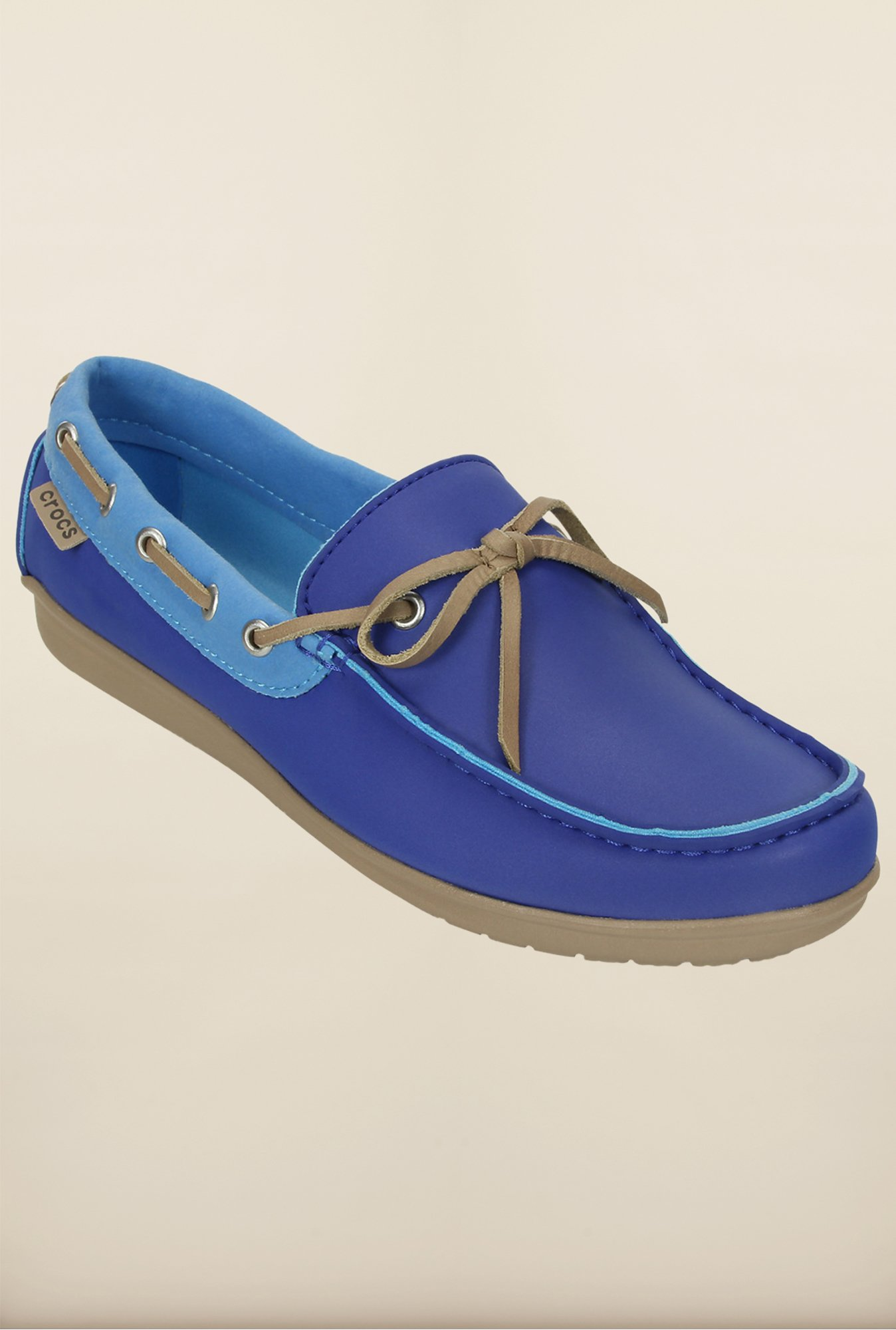 Crocs Wrap Color Lite Cerulean Blue & Bluebell Shoes