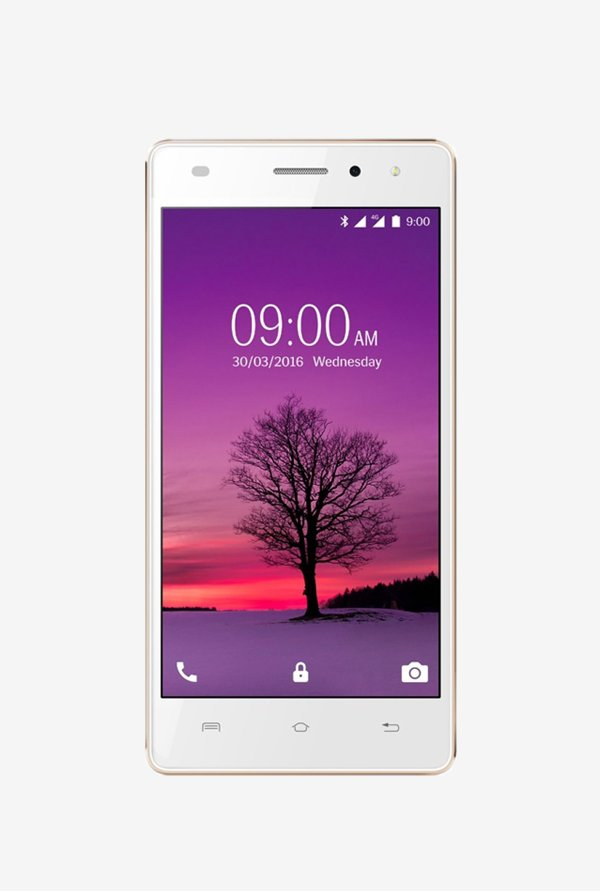Lava A72 4G Dual Sim 8 GB (White Gold)
