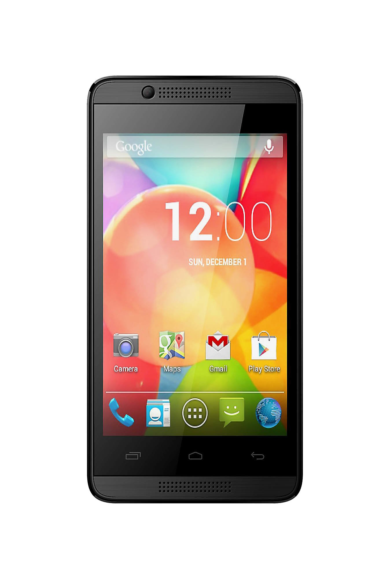 Intex Cloud Gem 4 GB (Black) 512 MB RAM, Dual SIM 3G