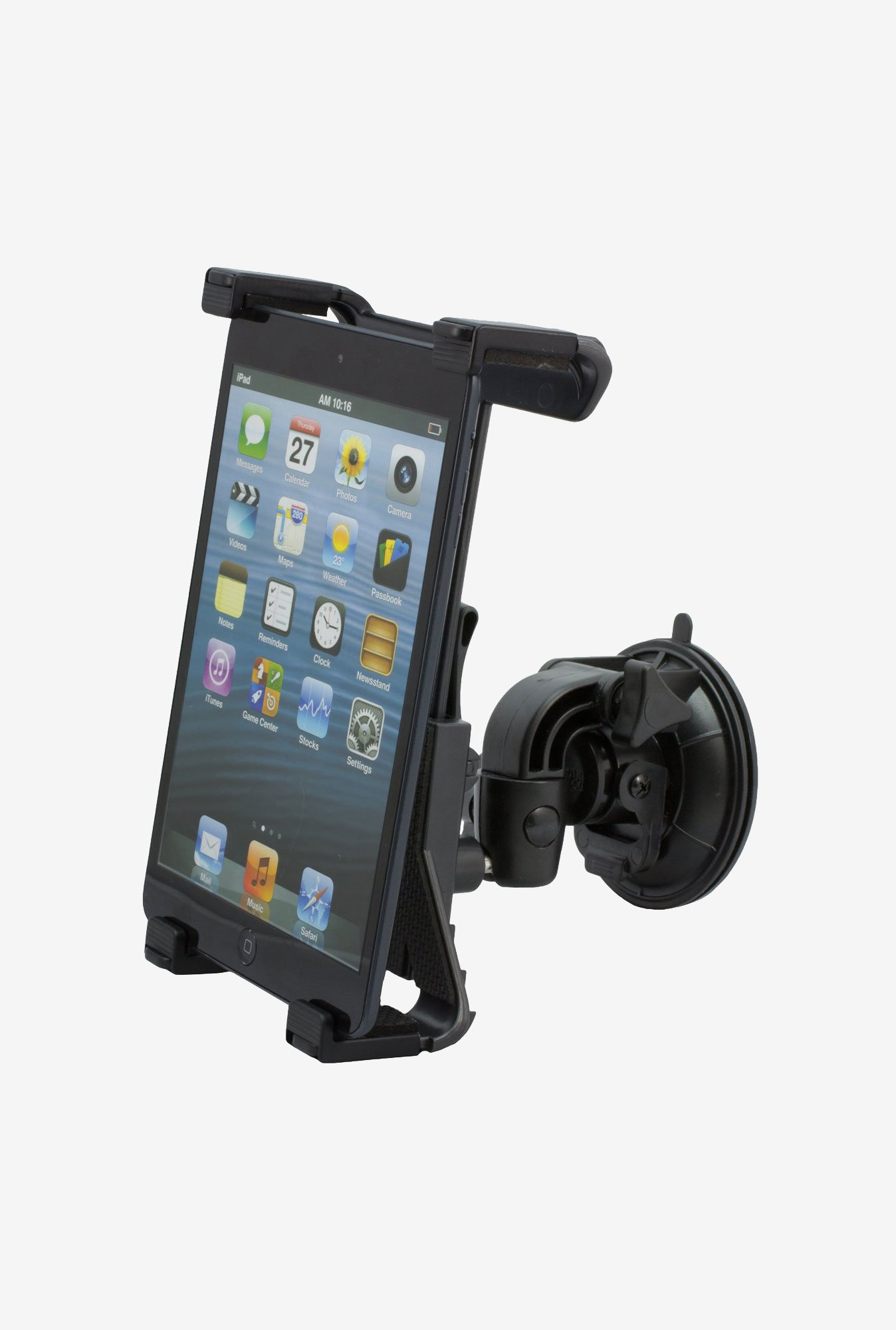 Zooky AG00013 Windshield Mount Holder for all Tablet (Black)