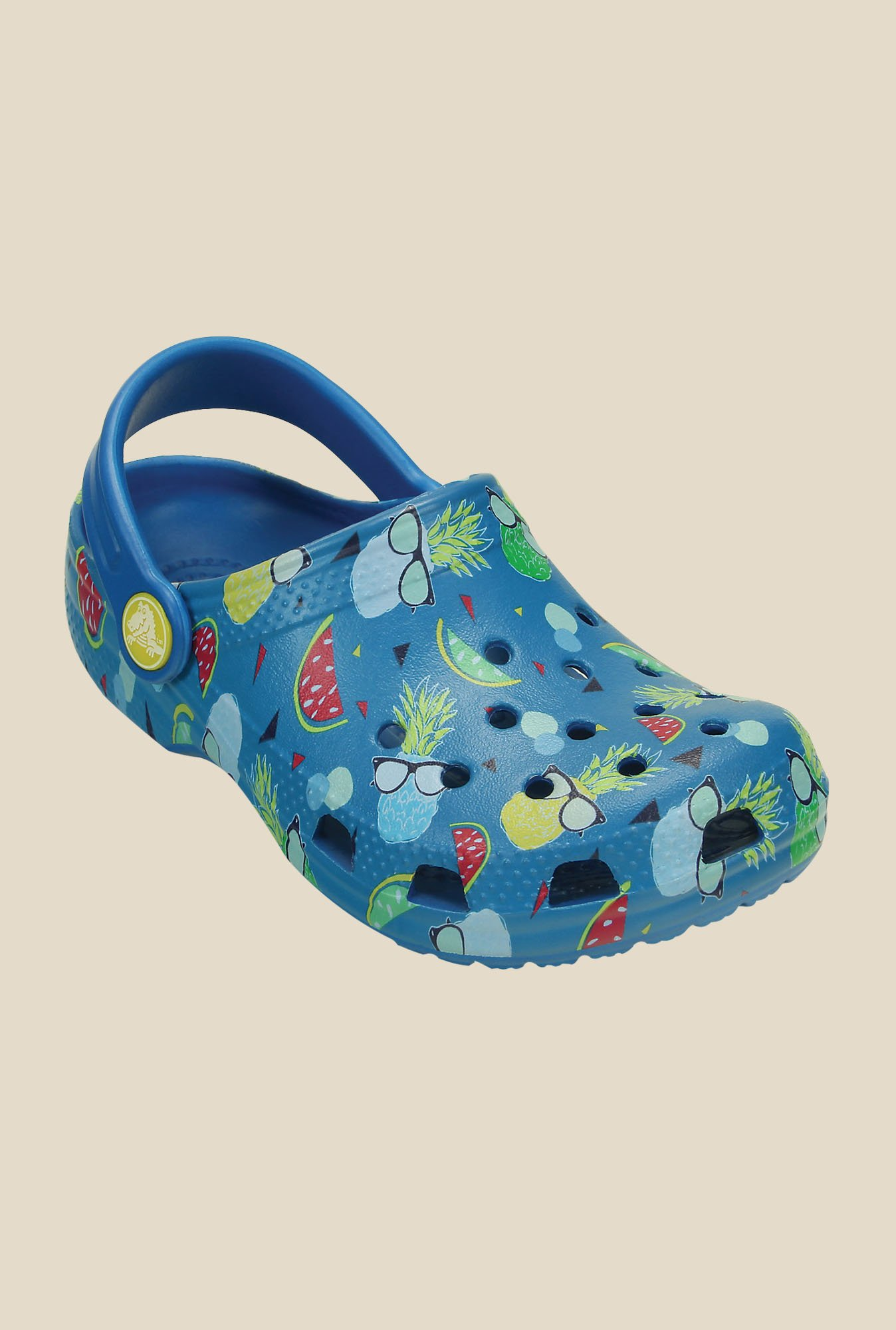 Crocs Classic Summer Fun Ultramarine Clogs
