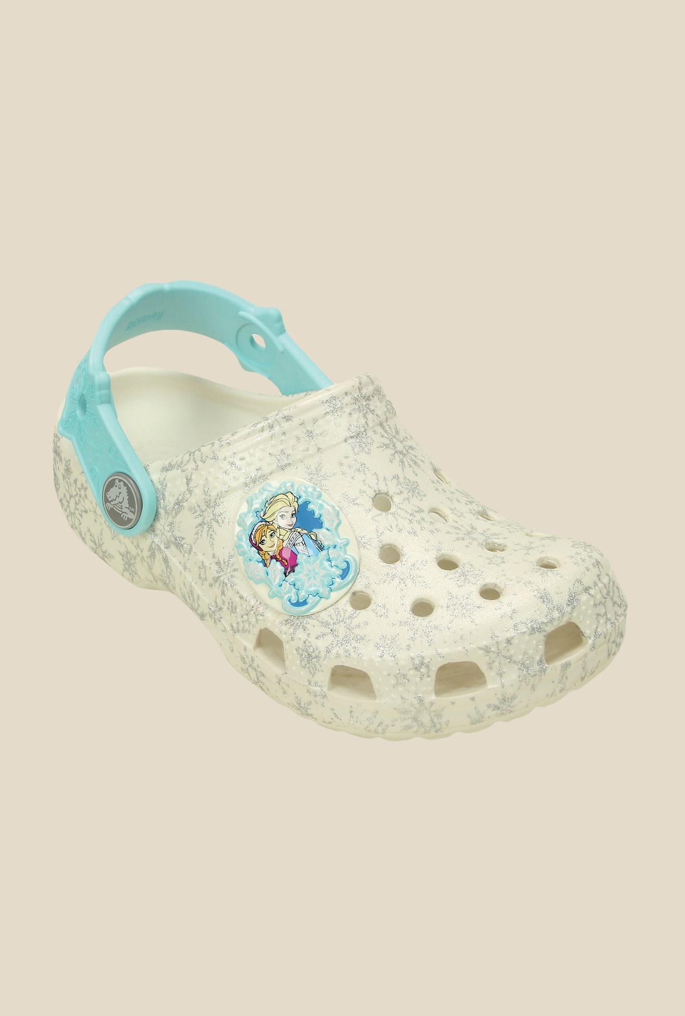 Crocs Classic Disney Frozen Oyster Clogs
