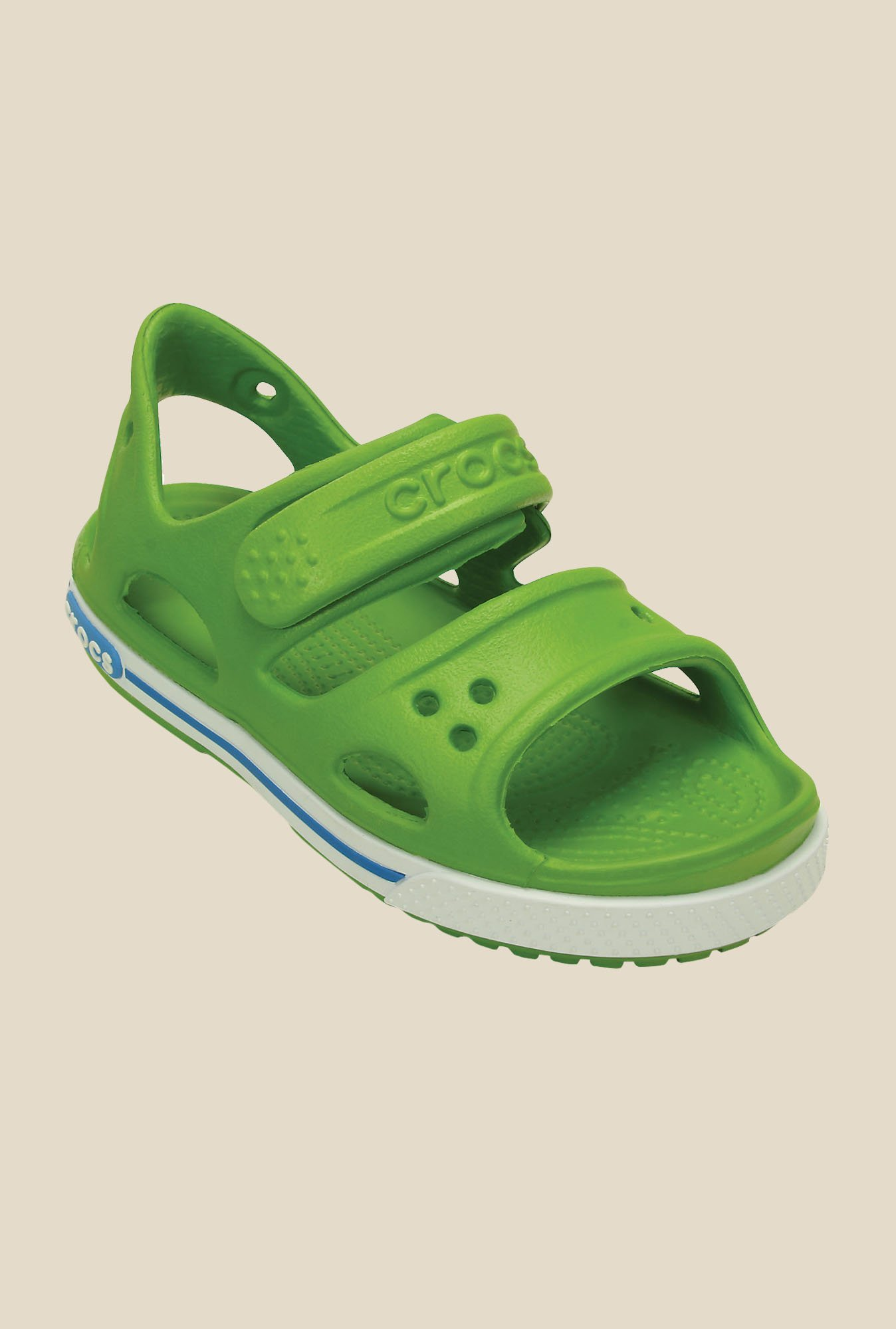 Crocs Crocband II PS Parrot Green & Ocean Sandals