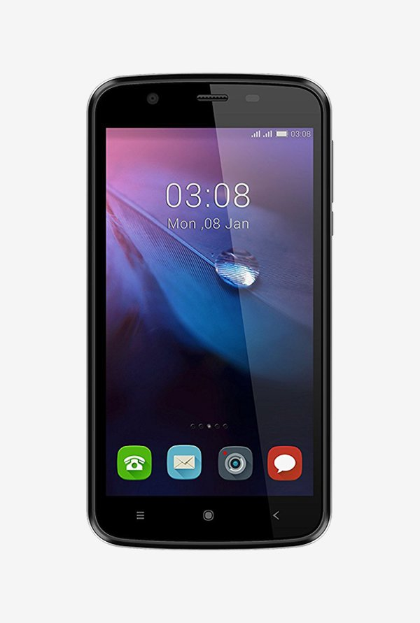 Videocon Z45 DAZZLE (Black)