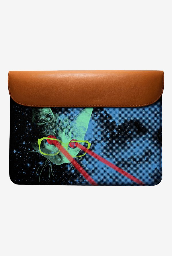 DailyObjects Laser Cat Space MacBook Pro 13 Envelope Sleeve