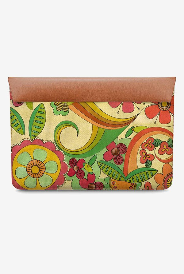 DailyObjects Magic Floral MacBook Pro 13 Envelope Sleeve