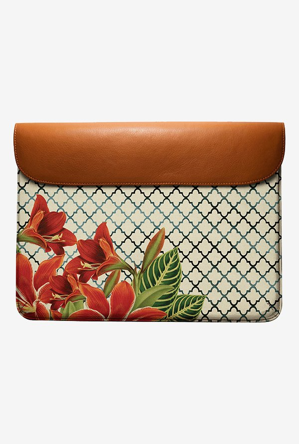 DailyObjects Floral Pattern MacBook Pro 15 Envelope Sleeve