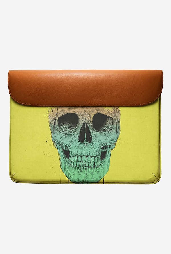 DailyObjects Pop Art Skull MacBook Pro 15 Envelope Sleeve