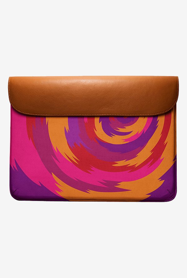 DailyObjects Purple Swirl MacBook Air 13 Envelope Sleeve