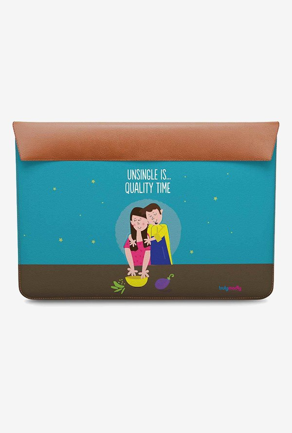 DailyObjects Quality Time MacBook Pro 15 Envelope Sleeve