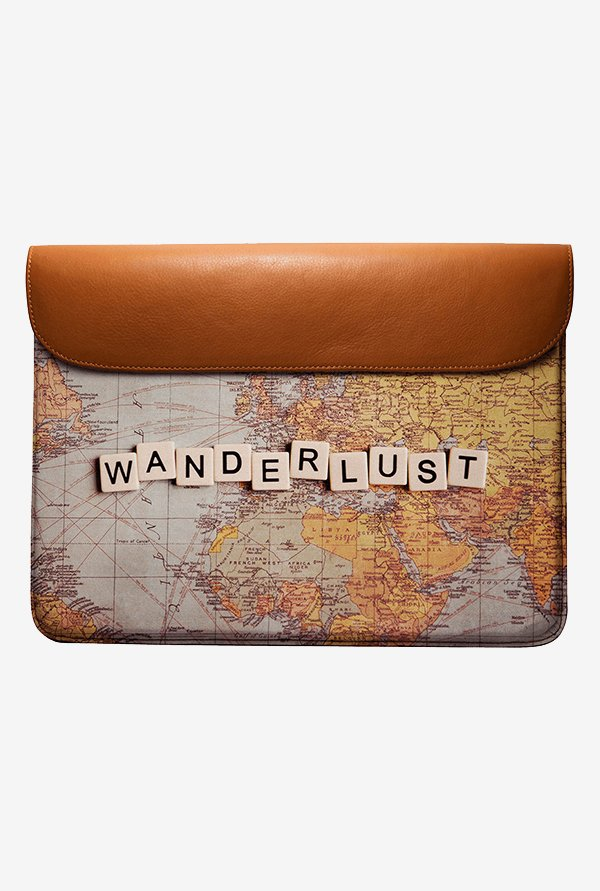 DailyObjects Wanderlust Map MacBook Pro 13 Envelope Sleeve