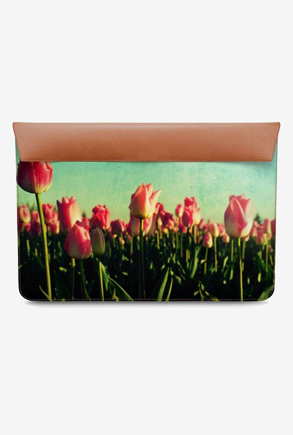 DailyObjects Tulip Garden MacBook Pro 15 Envelope Sleeve