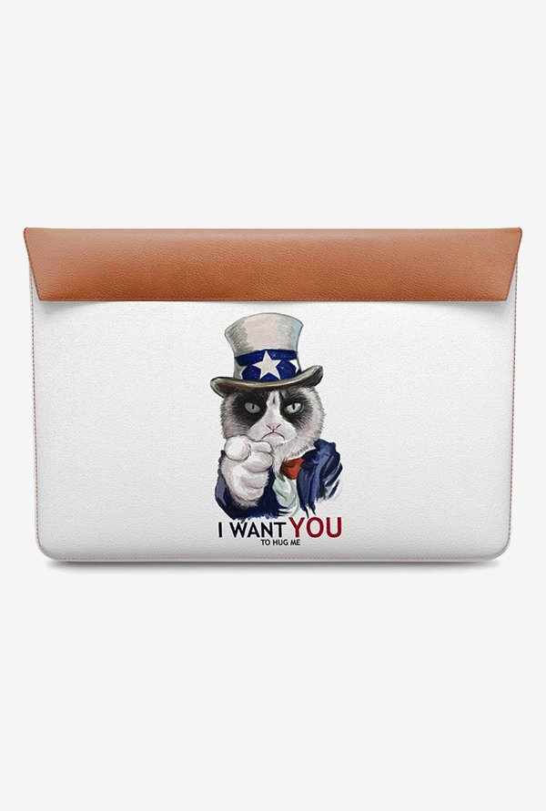DailyObjects Uncle Sam Cat MacBook Pro 15 Envelope Sleeve