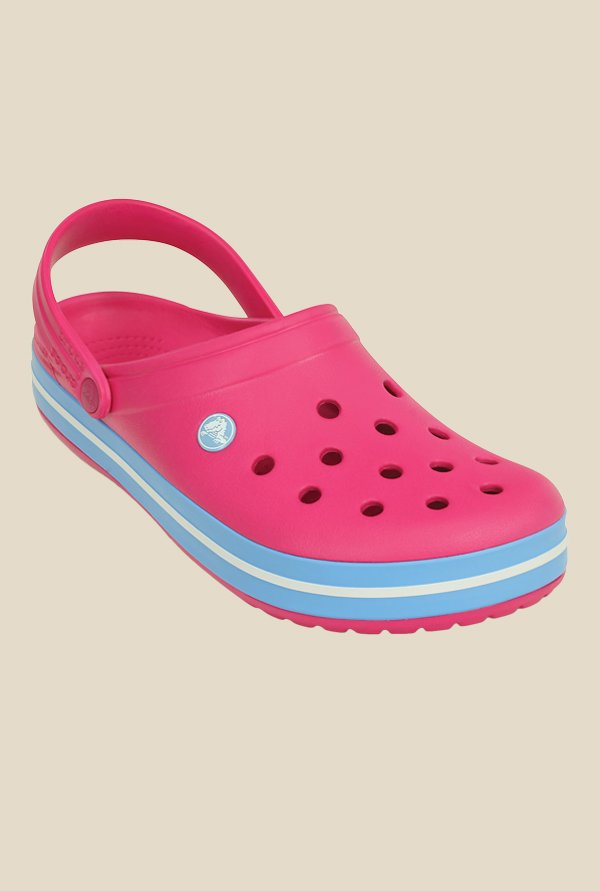 Crocs Crocband Candy Pink & Bluebell Clogs