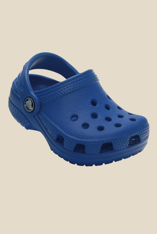 Crocs Littles Sea Blue Clogs