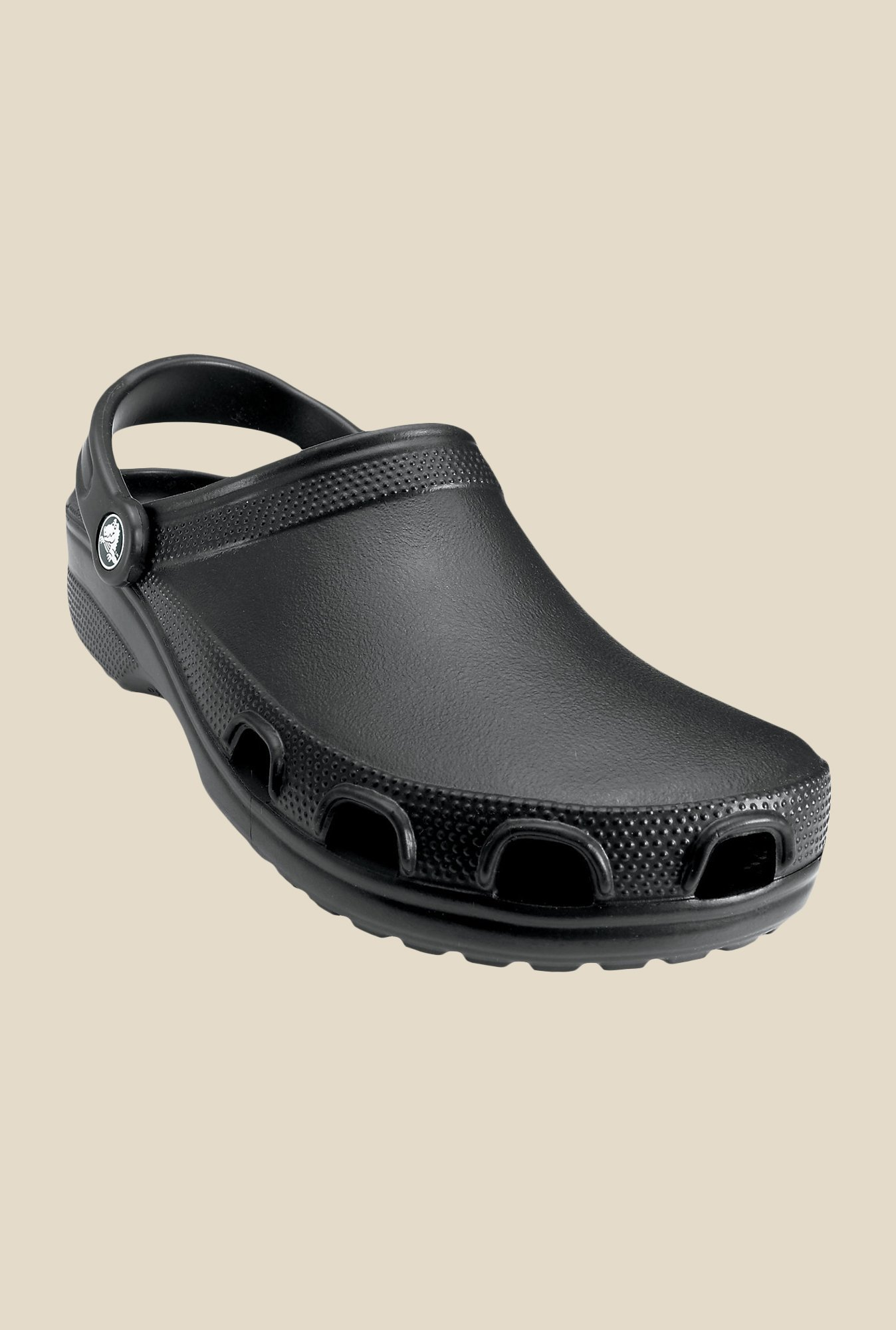 Crocs Relief Black Clogs
