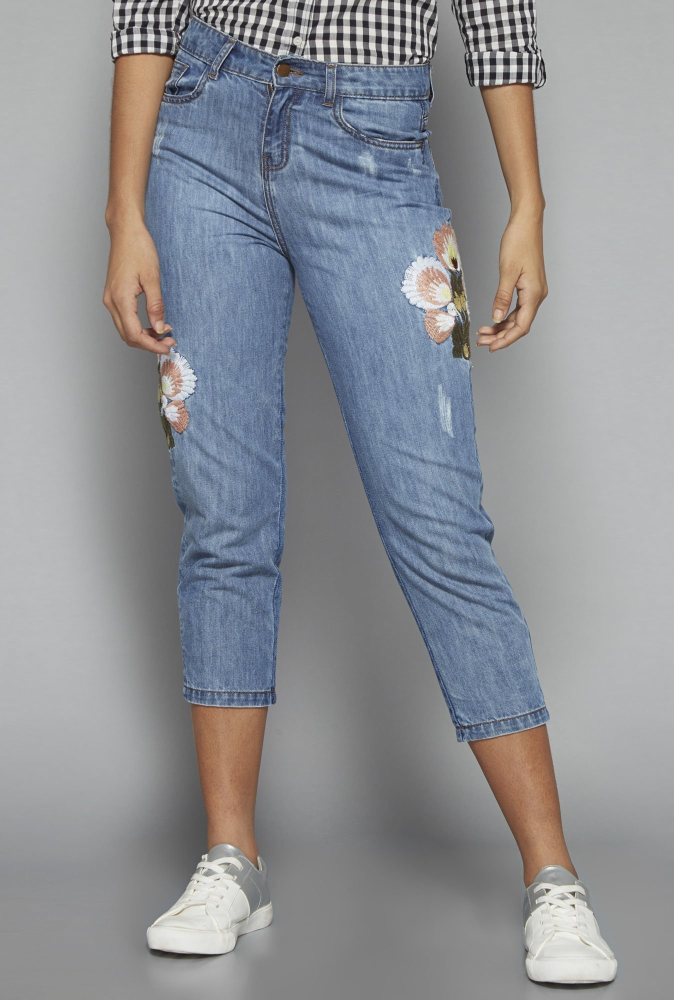Nuon by Westside Blue Crown Jeans