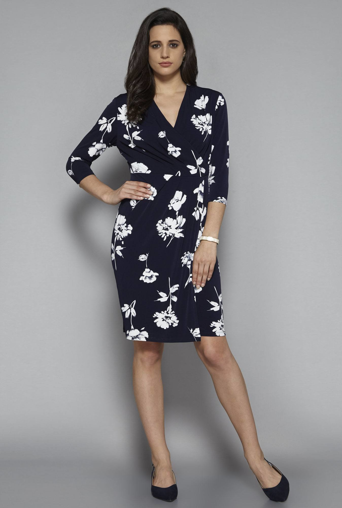 Wardrobe by Westside Navy Ollie Dress