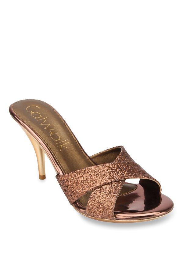 Catwalk Women BRONZE Heels Buy BRONZE Color Catwalk Women