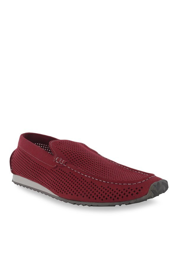 Steve Madden Burkee Red Loafers