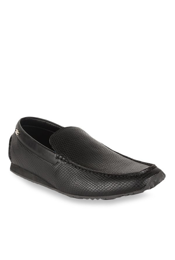 Steve Madden Burke Black Loafers