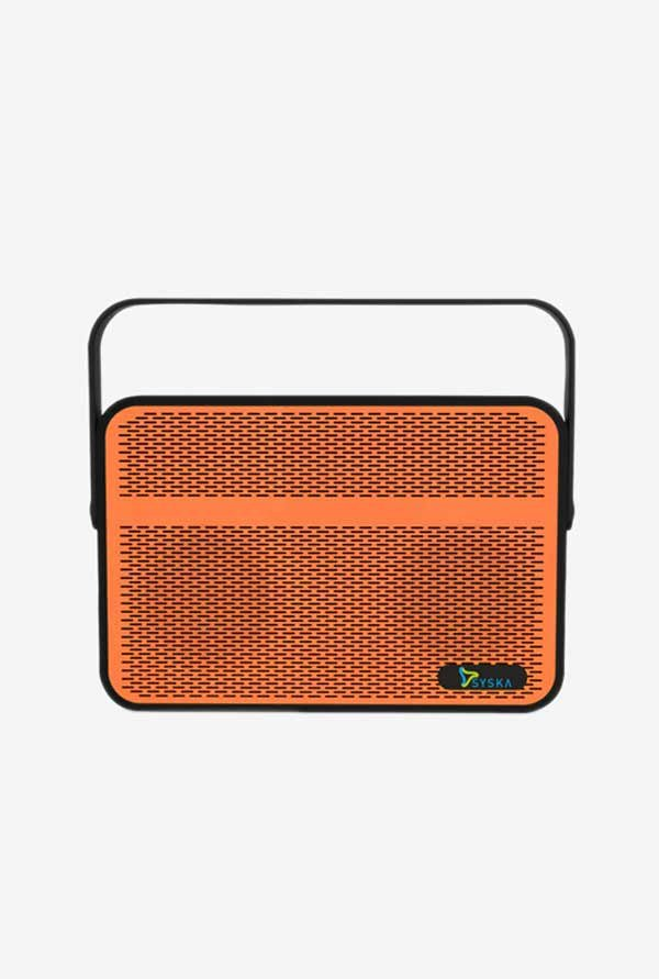 Syska Blade 10 W Outdoor Bluetooth Speaker (Orange)