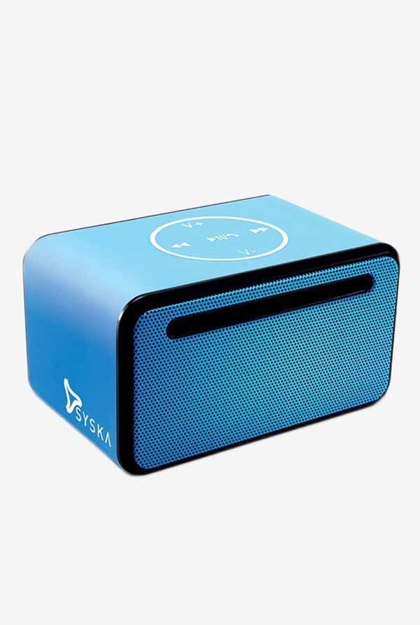 Syska KTS 38 6W Bluetooth Speaker (Blue)