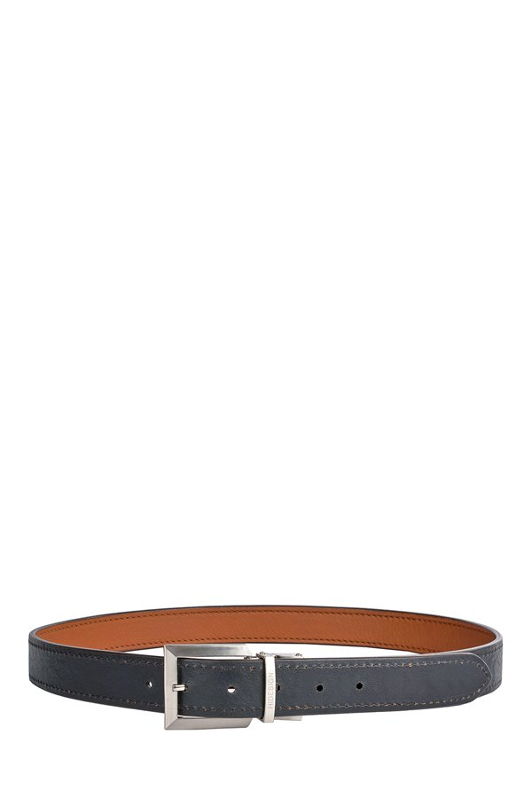 cc6b0434f20 Buy Hidesign Aldo Tan   Black Stitched Leather Reversible Belt For ...