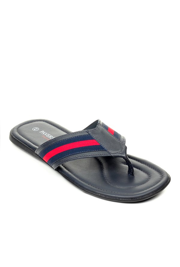 780a2169f41 Buy Pavers England Navy   Red Thong Sandals for Men at Best Price   Tata  CLiQ