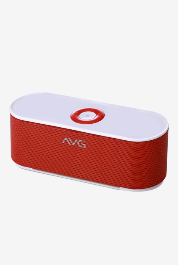 AVG F3 10 W Bluetooth Speaker (Red)