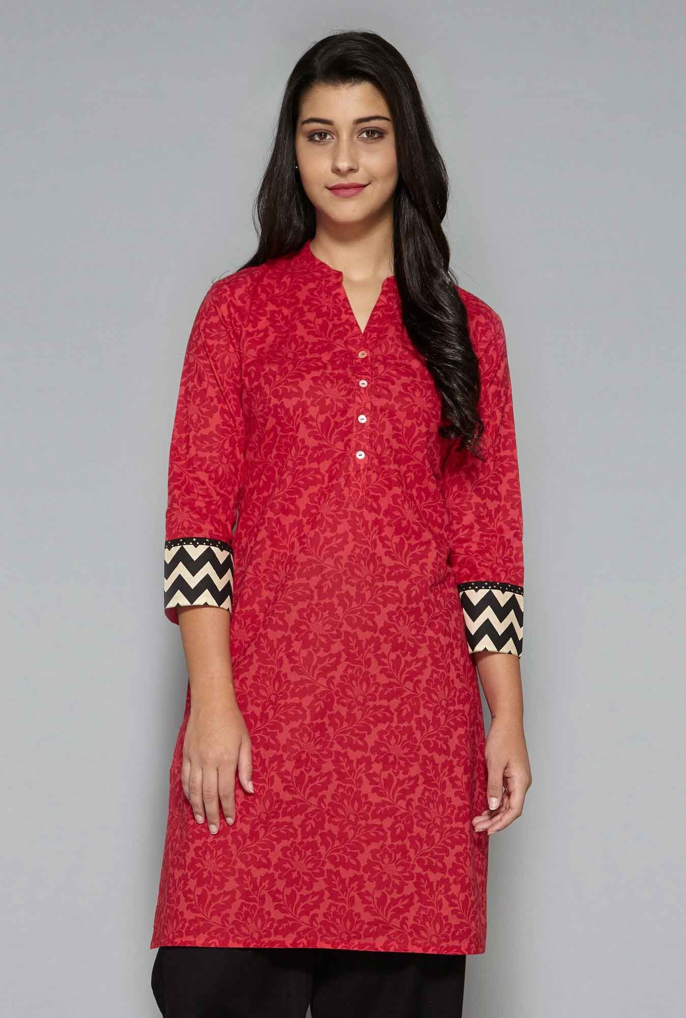 Utsa by Westside Pink Kurta