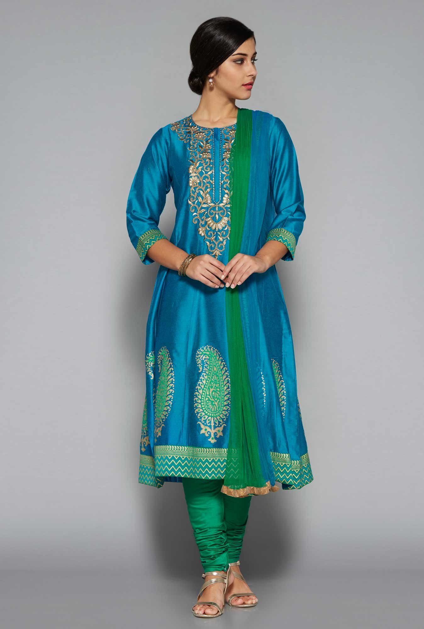 Vark by Westside Indigo Ethnic Set