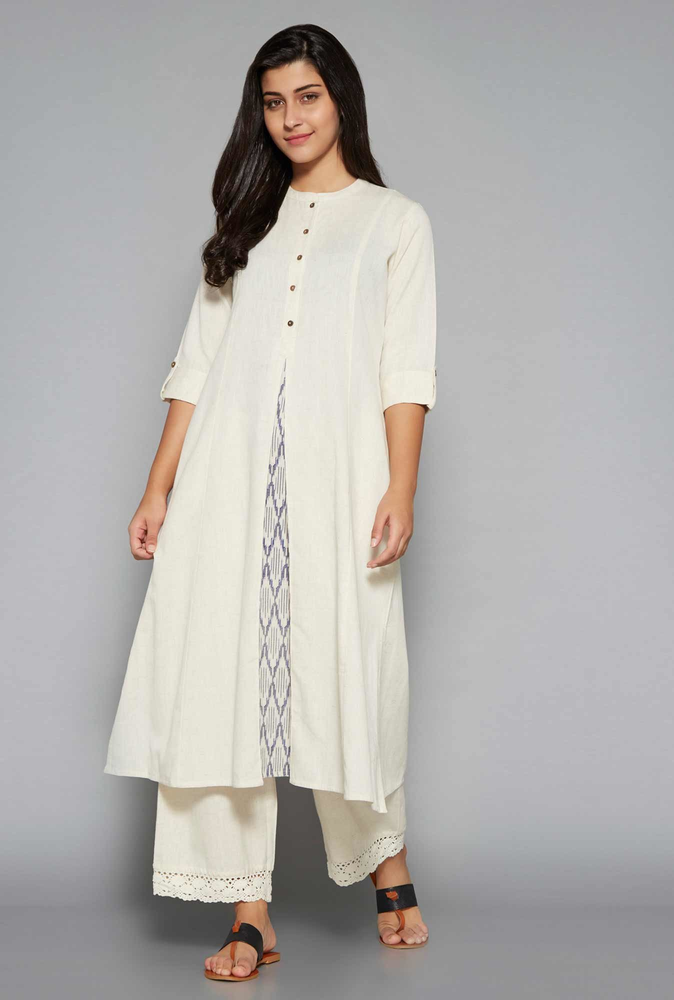 Utsa by Westside Off White Kurta