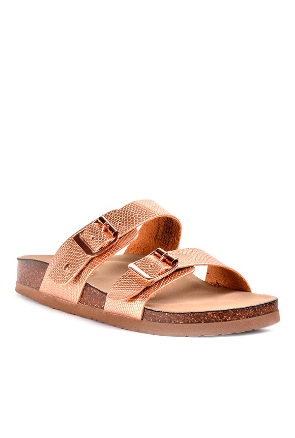 0a3bb2d5afe9 Buy Madden Girl Brando Rose Gold Casual Sandals for Women at ...