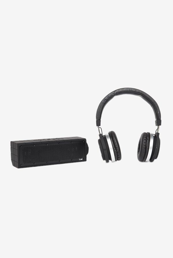 Boat Stone 600 Bluetooth Speaker+Boat Rockers 470 Headphones