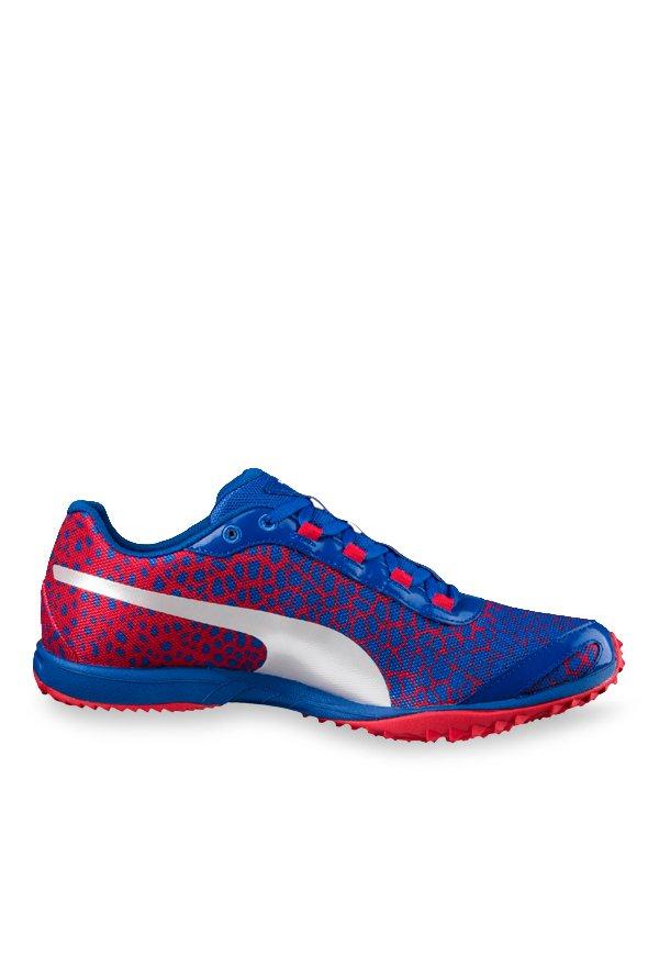 f643e585aed6 Buy Puma evoSPEED Haraka 4 Lapis Blue   Toreador Running Shoes for Men at  Best Price   Tata CLiQ